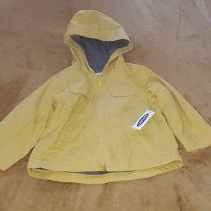 Hooded canvas utility jacket